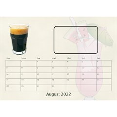 Happy Hour Desktop Calendar 8 5 x6  By Lil    Desktop Calendar 8 5  X 6    3s2ri91a28p7   Www Artscow Com Aug 2015