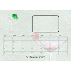 Happy Hour Desktop Calendar 8 5 x6  By Lil    Desktop Calendar 8 5  X 6    3s2ri91a28p7   Www Artscow Com Sep 2015