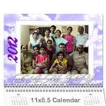 calender-Noida - Wall Calendar 11  x 8.5  (12-Months)