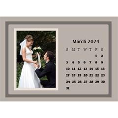 Coffee And Cream Desktop Calendar (8 5x6) By Deborah   Desktop Calendar 8 5  X 6    Gqwjgb94bm6t   Www Artscow Com Mar 2018