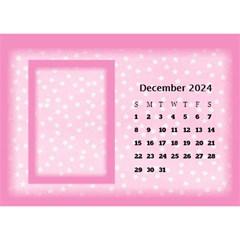 Pink Princess 2017 Desktop Calendar By Deborah   Desktop Calendar 8 5  X 6    Pd4jwc2ddnqp   Www Artscow Com Dec 2017