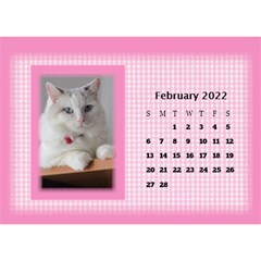 Pink Princess 2017 Desktop Calendar By Deborah   Desktop Calendar 8 5  X 6    Pd4jwc2ddnqp   Www Artscow Com Feb 2017