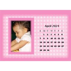 Pink Princess 2017 Desktop Calendar By Deborah   Desktop Calendar 8 5  X 6    Pd4jwc2ddnqp   Www Artscow Com Apr 2017