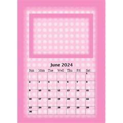 Pink Princess Desktop Calendar 2017 By Deborah   Desktop Calendar 6  X 8 5    Otbmskswrnpn   Www Artscow Com Jun 2017