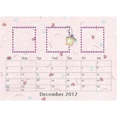 Our Family Desktop Calendar By Daniela   Desktop Calendar 8 5  X 6    Mqbyc94lzojw   Www Artscow Com Dec 2012