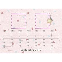 Our Family Desktop Calendar By Daniela   Desktop Calendar 8 5  X 6    Mqbyc94lzojw   Www Artscow Com Sep 2012
