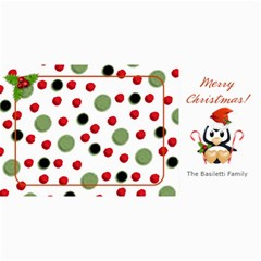 Christmas Penguin Photo Card By Laurrie   4  X 8  Photo Cards   Yni1afs6iug7   Www Artscow Com 8 x4 Photo Card - 2