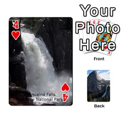 Waterfall Playing Cards By Sjinks Gmail Com   Playing Cards 54 Designs   S4dv572t3iv0   Www Artscow Com Front - Heart4
