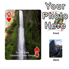 Queen Waterfall Playing Cards By Sjinks Gmail Com   Playing Cards 54 Designs   S4dv572t3iv0   Www Artscow Com Front - HeartQ