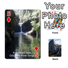 Waterfall Playing Cards By Sjinks Gmail Com   Playing Cards 54 Designs   S4dv572t3iv0   Www Artscow Com Front - Diamond5