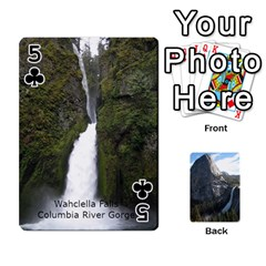 Waterfall Playing Cards By Sjinks Gmail Com   Playing Cards 54 Designs   S4dv572t3iv0   Www Artscow Com Front - Club5
