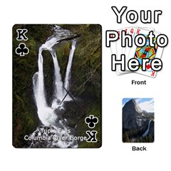 King Waterfall Playing Cards By Sjinks Gmail Com   Playing Cards 54 Designs   S4dv572t3iv0   Www Artscow Com Front - ClubK