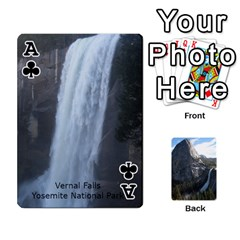 Ace Waterfall Playing Cards By Sjinks Gmail Com   Playing Cards 54 Designs   S4dv572t3iv0   Www Artscow Com Front - ClubA