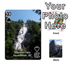 Waterfall Playing Cards By Sjinks Gmail Com   Playing Cards 54 Designs   S4dv572t3iv0   Www Artscow Com Front - Spade10