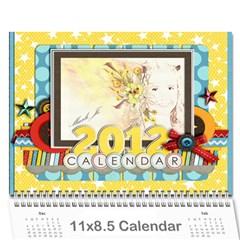 Marli s Calender 2 By Linda Ward   Wall Calendar 11  X 8 5  (12 Months)   Bm7oimqdigsa   Www Artscow Com Cover
