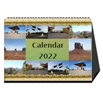 My 120 Photo Desk Calendar - Desktop Calendar 8.5  x 6