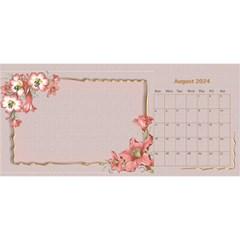 Pretty As A Picture Desktop Calendar By Deborah   Desktop Calendar 11  X 5    Yq3vxmsaw0ps   Www Artscow Com Aug 2017