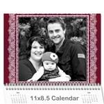 2012 - Wall Calendar 11  x 8.5  (12-Months)