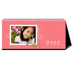 2015 Flower Faith   11x5 By Angel   Desktop Calendar 11  X 5    Io452qgugs00   Www Artscow Com Cover