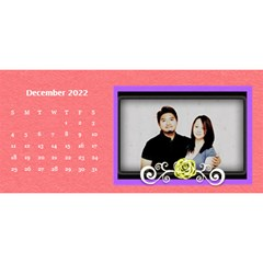 2015 Flower Faith   11x5 By Angel   Desktop Calendar 11  X 5    Io452qgugs00   Www Artscow Com Dec 2015