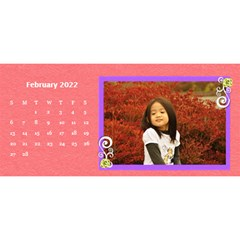 2015 Flower Faith   11x5 By Angel   Desktop Calendar 11  X 5    Io452qgugs00   Www Artscow Com Feb 2015