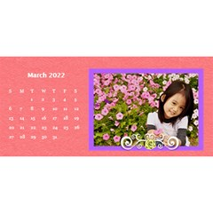 2015 Flower Faith   11x5 By Angel   Desktop Calendar 11  X 5    Io452qgugs00   Www Artscow Com Mar 2015