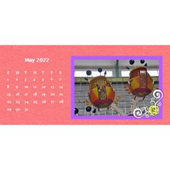 2015 Flower Faith   11x5 By Angel   Desktop Calendar 11  X 5    Io452qgugs00   Www Artscow Com May 2015