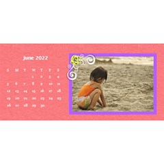 2015 Flower Faith   11x5 By Angel   Desktop Calendar 11  X 5    Io452qgugs00   Www Artscow Com Jun 2015
