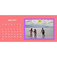 2015 Flower Faith   11x5 By Angel   Desktop Calendar 11  X 5    Io452qgugs00   Www Artscow Com Jul 2015
