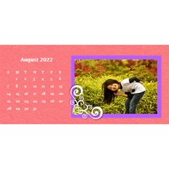 2015 Flower Faith   11x5 By Angel   Desktop Calendar 11  X 5    Io452qgugs00   Www Artscow Com Aug 2015