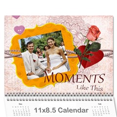 Every Year By Joely   Wall Calendar 11  X 8 5  (12 Months)   Pz8f1dhrujoc   Www Artscow Com Cover