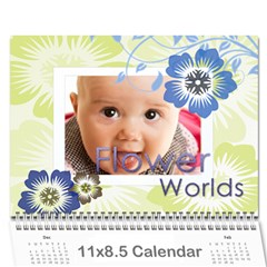 Every Year By Joely   Wall Calendar 11  X 8 5  (12 Months)   Bypbpk8c84gt   Www Artscow Com Cover