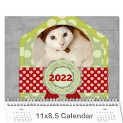 Every Year 2015 By Joely   Wall Calendar 11  X 8 5  (12 Months)   H52vlchrz4xu   Www Artscow Com Cover