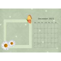 Flower World By Joely   Desktop Calendar 8 5  X 6    Tg55ihqdwsyh   Www Artscow Com Dec 2015