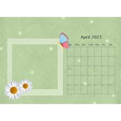 Flower World By Joely   Desktop Calendar 8 5  X 6    Tg55ihqdwsyh   Www Artscow Com Apr 2015