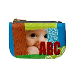 Abc  By Joely   Mini Coin Purse   Vokssgb459ne   Www Artscow Com Front