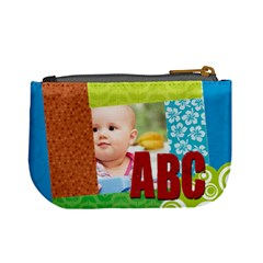 Abc  By Joely   Mini Coin Purse   Vokssgb459ne   Www Artscow Com Back
