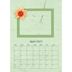 Flower World By Joely   Desktop Calendar 6  X 8 5    5olry1cp5g2i   Www Artscow Com Apr 2015