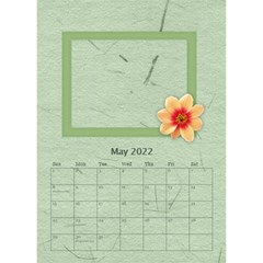 Flower World By Joely   Desktop Calendar 6  X 8 5    5olry1cp5g2i   Www Artscow Com May 2015
