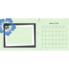 Flower World By Joely   Desktop Calendar 11  X 5    Dy65535trt9e   Www Artscow Com Mar 2015