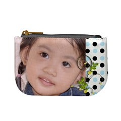 Mini Coin Purse   Dots By Angel   Mini Coin Purse   8jwxyto6ni0o   Www Artscow Com Front