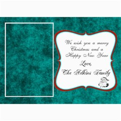 Christmas Card 2011 By Brooke Adkins (my Time Scraps)   5  X 7  Photo Cards   V44a3t734ror   Www Artscow Com 7 x5 Photo Card - 1