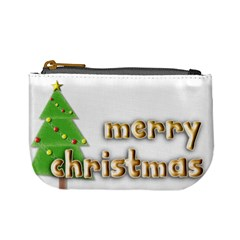 Christmas   Mini Coin Purse By Angel   Mini Coin Purse   Y9pg0v9h21cp   Www Artscow Com Front