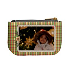 Christmas   Mini Coin Purse By Angel   Mini Coin Purse   Y9pg0v9h21cp   Www Artscow Com Back