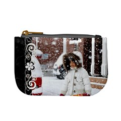 Mini Coin Purse   Winter By Angel   Mini Coin Purse   Yt42h000pgrw   Www Artscow Com Front