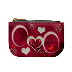 I Heart You Pink Coin Purse By Ellan   Mini Coin Purse   6lzoavzus3tr   Www Artscow Com Front