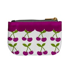 Cherry Mini Coin Purse 02 By Carol   Mini Coin Purse   Zxf0nbzmscik   Www Artscow Com Back