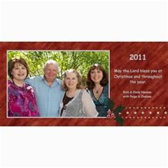 2011 Card By Cindy   4  X 8  Photo Cards   4ypf9b38fyn1   Www Artscow Com 8 x4 Photo Card - 9