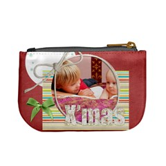Christmas By Joely   Mini Coin Purse   H8pwkawnzsic   Www Artscow Com Back