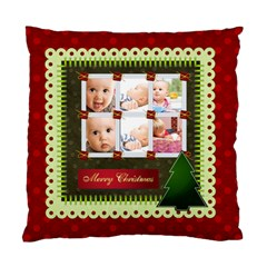 Christmas By Joely   Standard Cushion Case (two Sides)   Bmvlpzycew64   Www Artscow Com Back